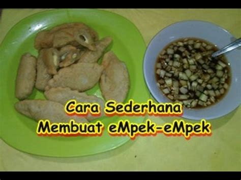 download video cara membuat empek empek cara sederhana membuat empek empek di rumah youtube