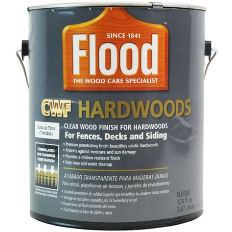 flood cwf hardwood stain  gallon  sealer store