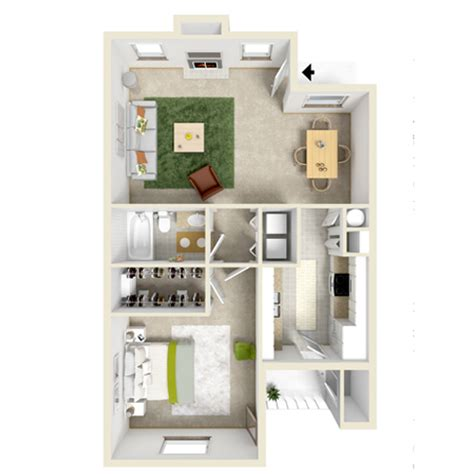 sloan s lake 1 bedroom 1 bath apartments for rent in furnished and unfurnished apartment plans towne lake