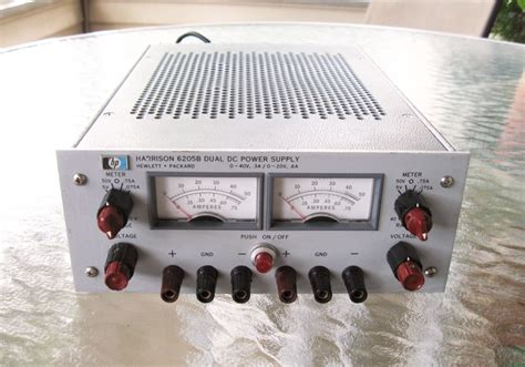 dual bench power supply eham net classifieds for sale hp 6205b dual output bench
