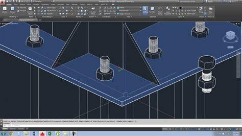 frame design 2d youtube 2d steel portal frame in autocad part 1 youtube