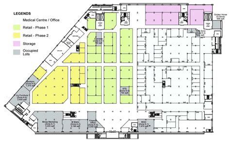 retail space floor plan miecc office retail space in malaysia international
