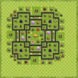 War base town hall 9 anparta th 9 layout clash of clans for all