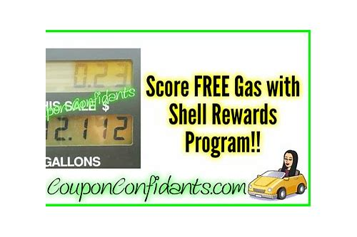 free gas coupons shell oil
