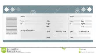 boarding pass blank royalty free stock photo image 16021425