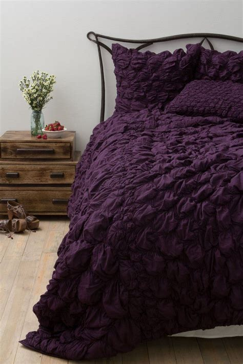 plum colored bedding trend alert plum colored pieces for fall