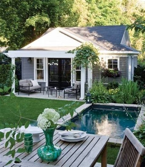small pool house stunning backyard pools and landscaping ideas just need