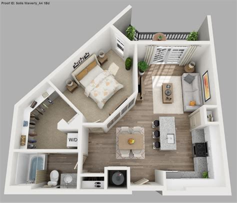 studio and one bedroom apartments apartment luxury studio apartment floor plans 3d
