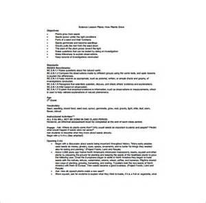 Kindergarten Lesson Plan Template ? 11  Free Sample