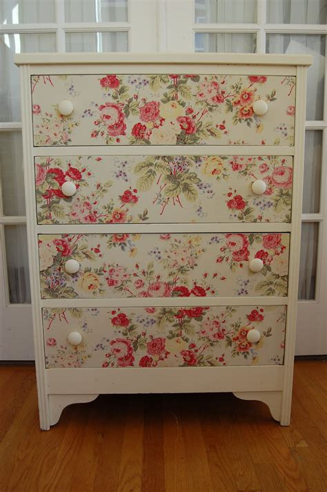Decoupage Dresser With Fabric - our top 10 upcycled sideboard ideas part one remadeinbrit
