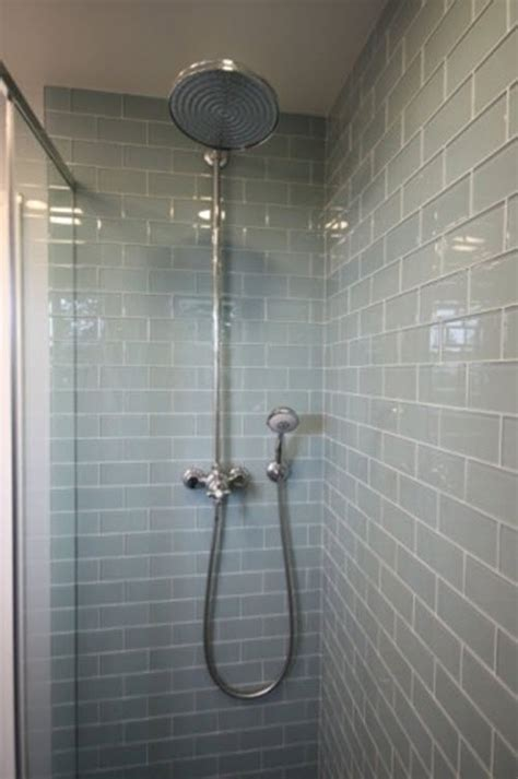 bathroom glass tile ideas 35 blue gray bathroom tile ideas and pictures