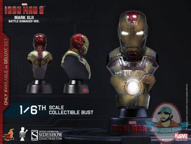 Iron 16 Bust Deluxe Set Of 8 Toys 1 6 Iron Iron 3 Deluxe Set Of 8 Collectible Bust