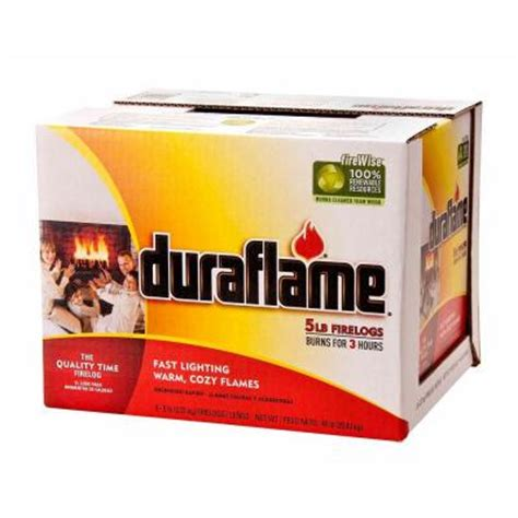 duraflame 5 lb log 9 pack 00927 the home depot