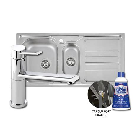 Abode Mikro Sink Specto Tap Pack Sinks Taps Com Kitchen Sink Pack