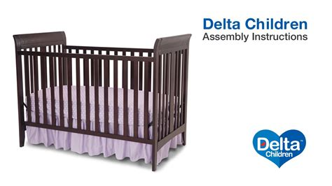 How To Convert 3 In 1 Crib To Toddler Bed by Delta Children Parkside Bayside 3 In 1 Crib Assembly