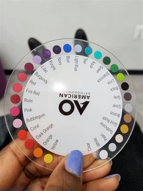 color wheel braces my dentist s only colors braces ortodoncia brakets