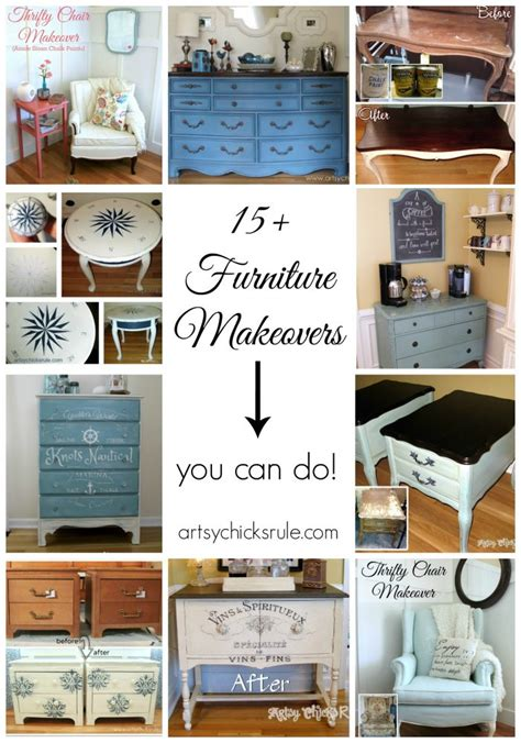 riaan diy chalk paint 15 furniture makeovers you can do artsy rule 174