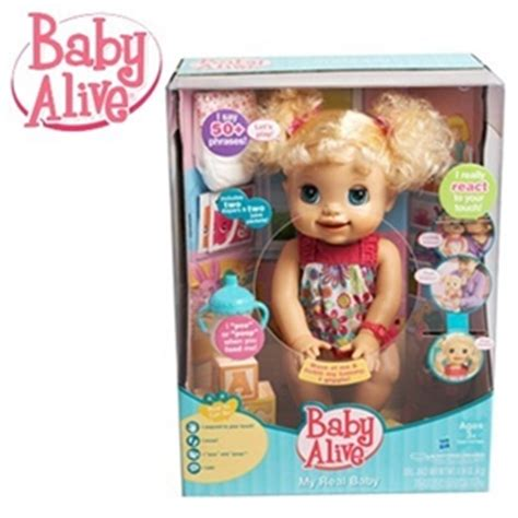 Baby Alive Baby Real buy baby alive my real baby doll says 50 phrases