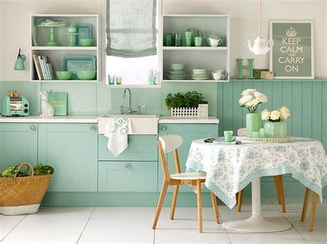 Kitchens With Colored Cabinets trend alert pastel trend in home decor home stories a to z