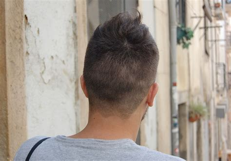 back of head hair styles for men ultra cool unique asymmetric men s short cut