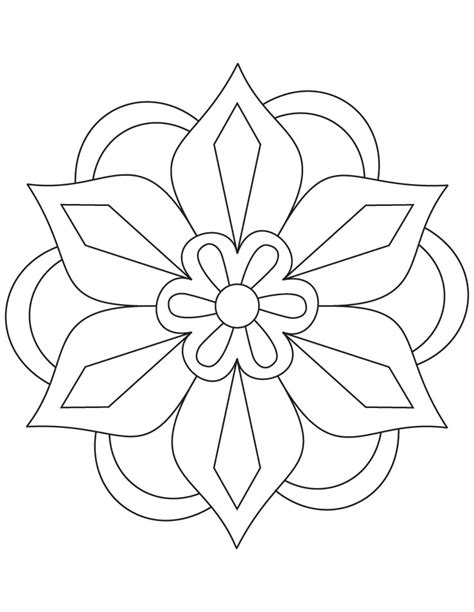pattern play color by design free coloring pages of rangoli pattern