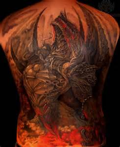 dragon color tattoo