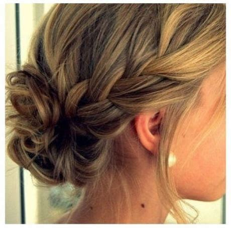 medium length hairstyles for thick hair updo updos for thick medium hair