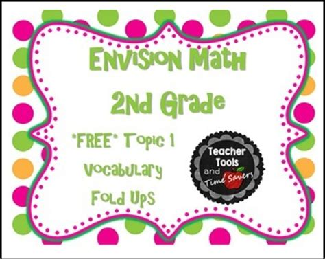 envision math second grade worksheets envision math