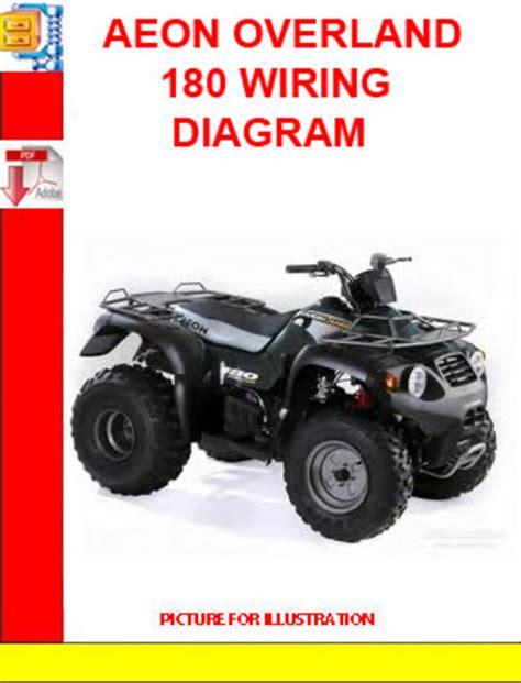 aeon overland 180 wiring diagram manuals