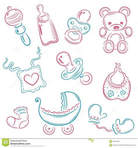 Set Baby baby set royalty free stock photo image 33575125