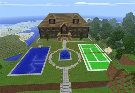 How To Build A House In Minecraft by That Is The Most Amazing House In The World Imagine How