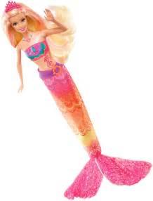 Barbie in a mermaid tale 2 merliah transforming doll free shipping
