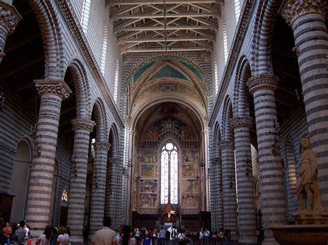 duomo orvieto interno duomo di orvieto gotico