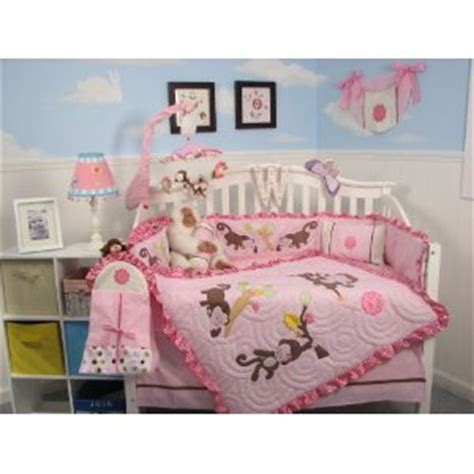 girl monkey crib bedding monkey bedding for kids we buy cheaper