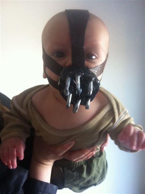 baby bane halloween costume baby clothes pinterest