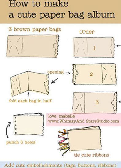 How To Make A Paper Bag Scrapbook - 36 best envelopes upcycle recycle crafts images on