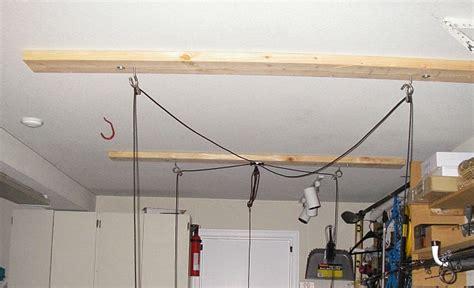 ceiling hoist kit installed kayaking and kayak fishing