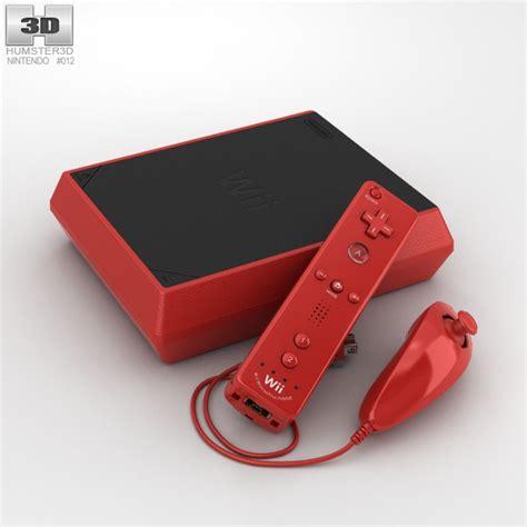 nintendo wii mini console nintendo wii mini 3d model hum3d