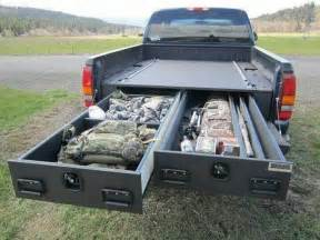 Ideas For Truck Accessories How To Install A Sliding Truck Bed Drawer System Diy
