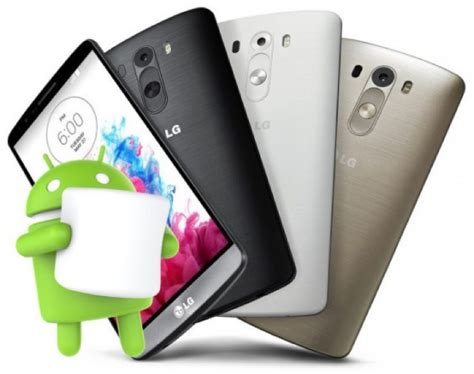 marshmallow themes for lg g3 lg g3 update to android marshmallow to start rolling next