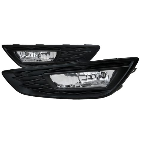 2015 Ford Focus Replacement Fog Lights Clear