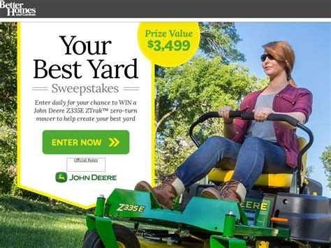 Backyard Giveaway by The Better Homes And Gardens Your Best Backyard Sweepstakes