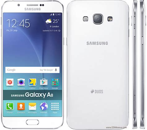 Samsung A8 Duos samsung galaxy a8 duos pictures official photos