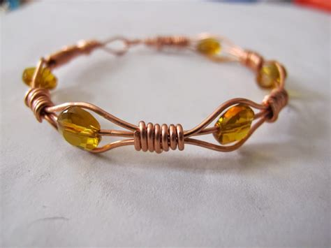 Handmade Wire Bracelets - s designs handmade wire jewelry copper wire