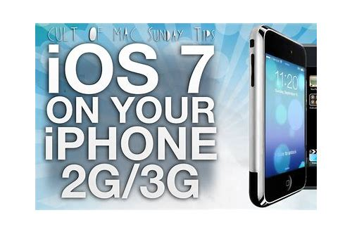 ios 7 kostenloser herunterladen links for iphone 3gs