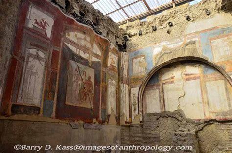 Ancient Interior by Ancient Herculaneum Italy