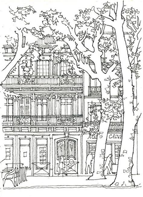 coloring pages for adults buildings 183 best images about coloring pages houses barns and