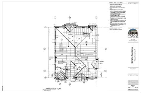 roof plans monsef donogh design group12004 lot 8 sheet a501