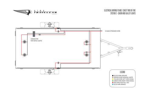 enclosed trailer  wiring diagram hanenhuusholli