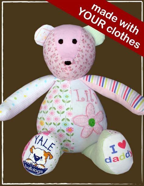DIY Keepsake Bear from Old Baby Clothes   BeesDIY.com
